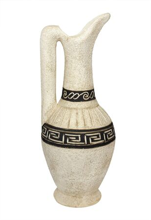 chatty: Clay jug with ornament in the Caucasian style