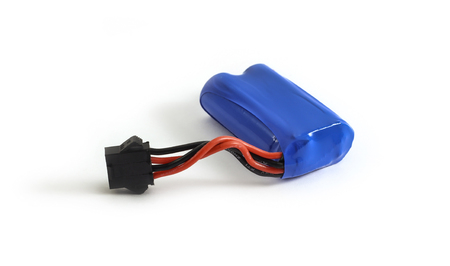 Rechargeable Li-ion battery with power plugs connector