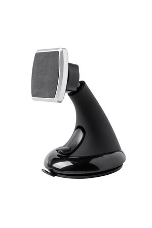 Car magnetic holder with suction cup on glass for cell phone