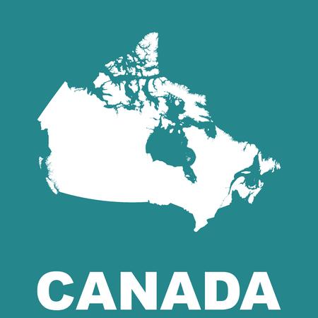 manitoba: Canada map. Illustration