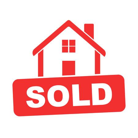 Verkocht huis.