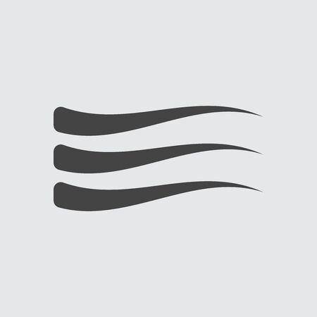 Wave Icon flat