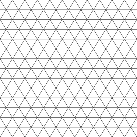 Seamless triangle pattern. Geometric texture. Vector background.