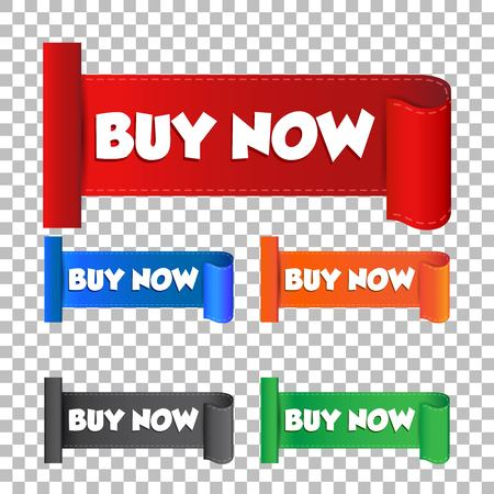 Buy now sticker. Label vector illustration on isolated background Illustration