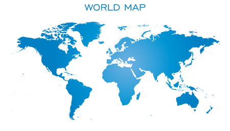 Blank white world map isolated on black background world map blank blue world map isolated on white background world map vector template for website publicscrutiny Image collections