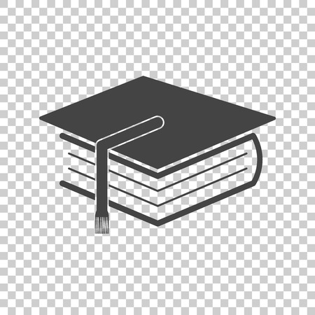 Education and book. Flat icon vector