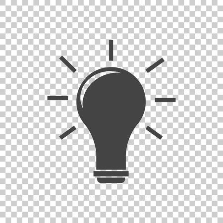 Idea icon vector flat