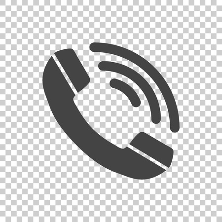 phone icon: Phone Icon vector flat