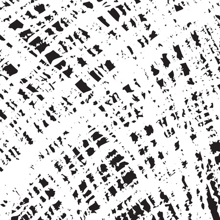 Abstract scribble scratched pattern. Crossing hatching lines. Wrapping vector illustration.