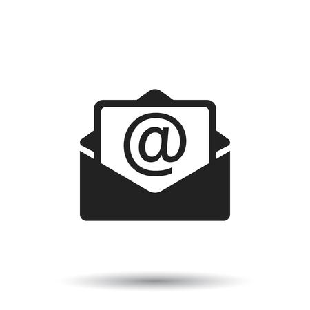 Mail envelop pictogram Stockfoto - 75568906