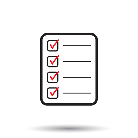 to do list icon checklist task list vector illustration in royalty free cliparts vectors and stock illustration image 75687309