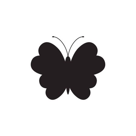 Fly icon, Silhouette illustration.