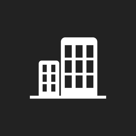 Building icon. Business vector illustration.
