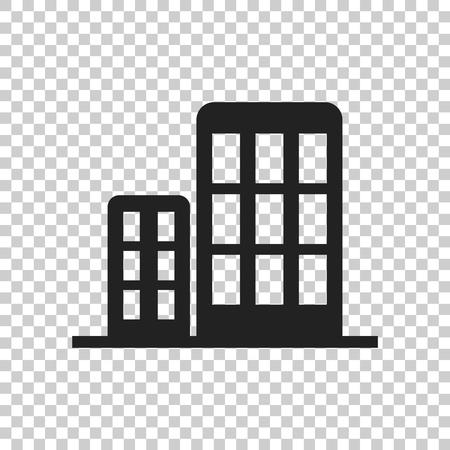 Gebäude-Symbol . Business-Vektor-Illustration Standard-Bild - 82072774