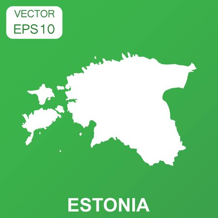 Estonia Vector Map Stock Vector Illustration And Royalty Free - Estonia from the us map