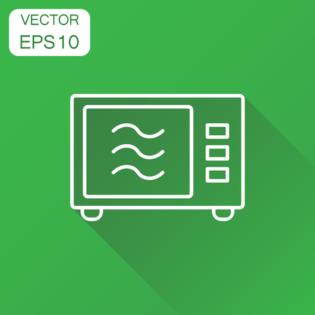 Microwave icon Ilustrace