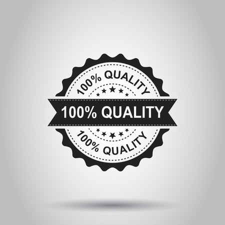 100% quality grunge rubber stamp. Banque d'images - 97554851