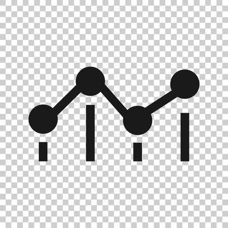 Icona di misura di riferimento in stile trasparente. Illustrazione di vettore di valutazione del cruscotto su priorità bassa isolata. Concetto di affari di servizio di progresso.