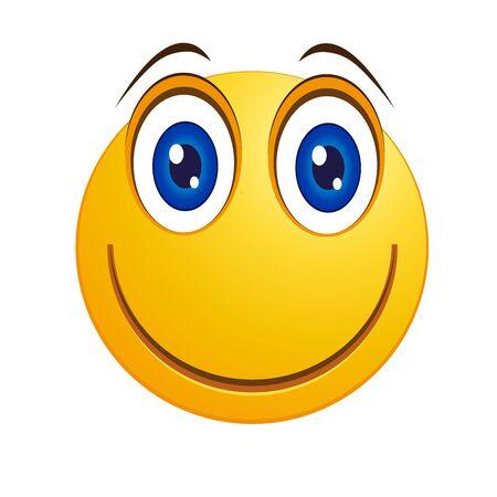 cheerful smiley Illustration