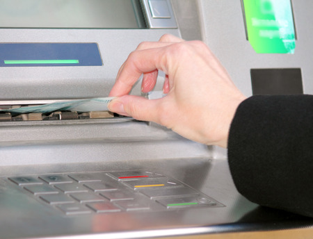 cuenta bancaria: tarjeta bancaria  Foto de archivo