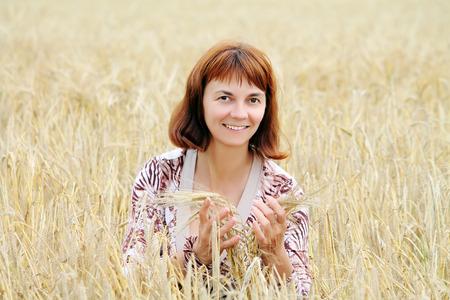 start of harvesting Banco de Imagens