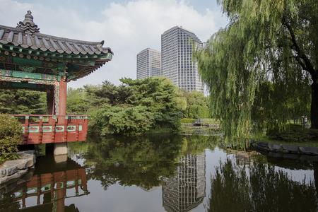 Seoul Yeouido Park in  South Korea.