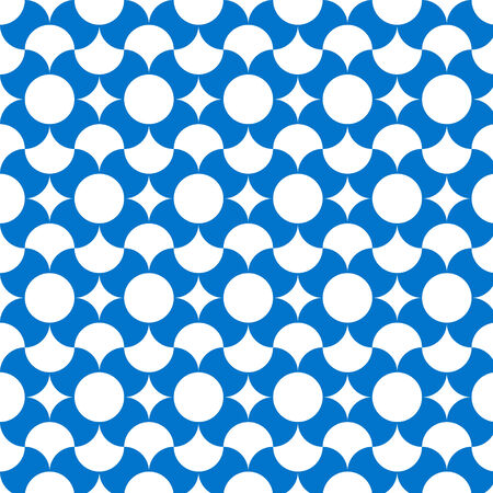wallpape: Abstract background with blue pattern vector illustration . Illustration