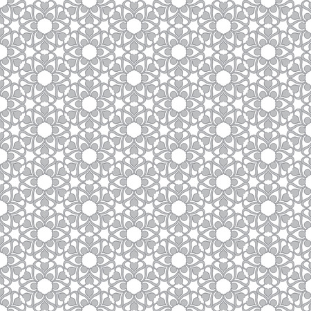 wall cell: Seamless Background With Retro Pattern. Vector Illustration. Illustration