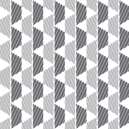 Black and gray graphic pattern abstract vector background. Modern stylish texture.