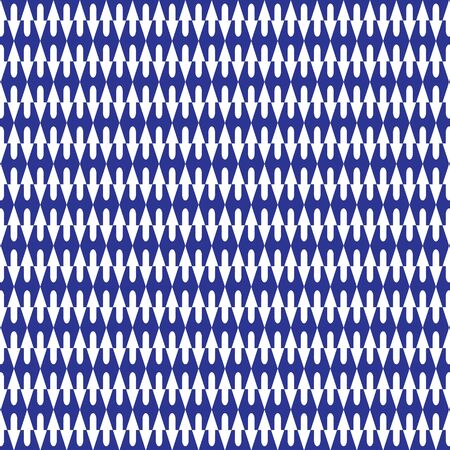 wall cell: blue graphic pattern abstract vector background. Modern stylish texture.