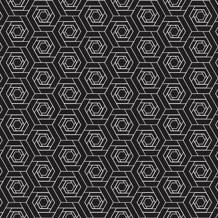 wall cell: Black and White graphic pattern abstract vector background. Modern stylish texture.