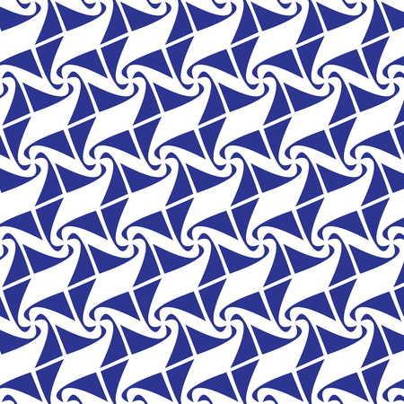 wall cell: blue graphic seamless pattern abstract vector background. Modern stylish texture.