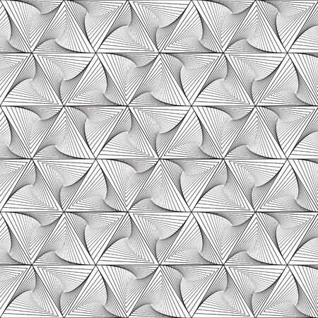 wall cell: Black line graphic pattern abstract vector background. Modern stylish texture.