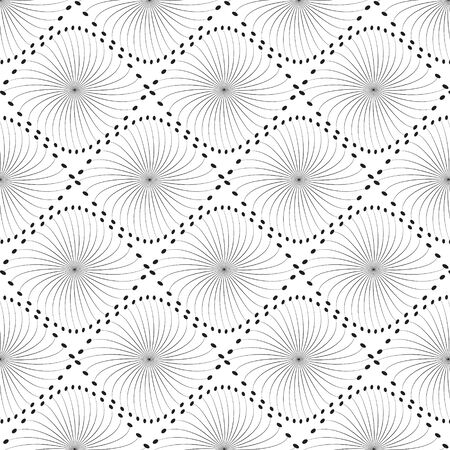 black line graphic pattern abstract vector background. Modern stylish texture. Illustration