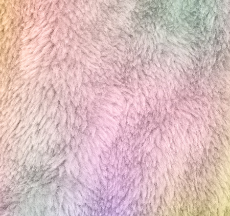 rug texture: Luxurious wool texture from a color sheepskin rug  made with color filters
