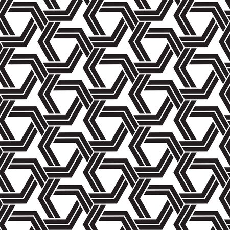 repeat pattern: black and white graphic pattern abstract vector background. Modern stylish texture