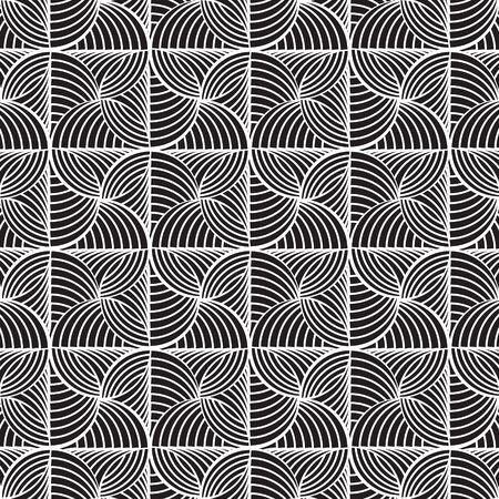 stylish: Black graphic pattern abstract vector background. Modern stylish texture.