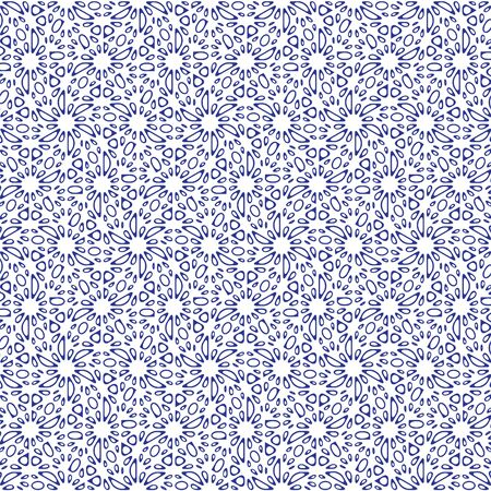 bue: Bue and white graphic pattern abstract vector background. Modern stylish texture. Illustration