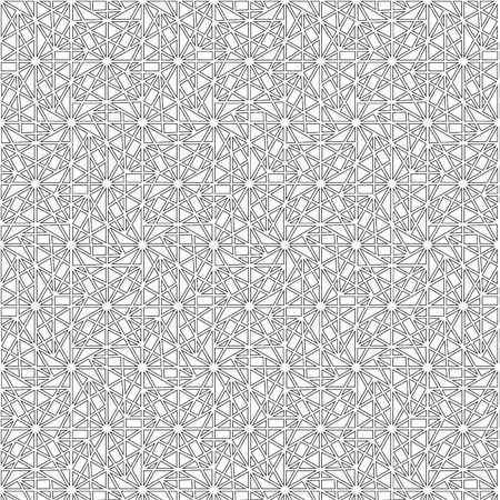 Black line  graphic pattern abstract vector background. Modern stylish texture. Çizim