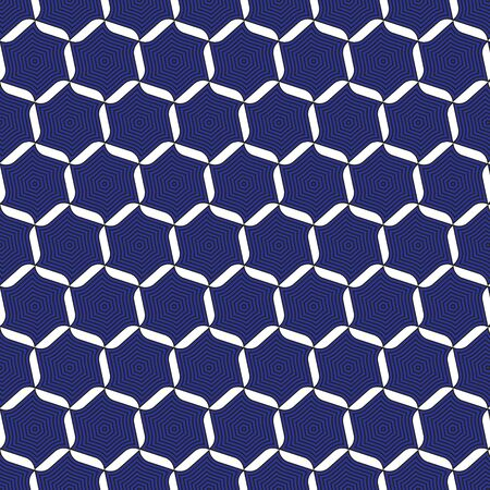 graphic: Blue graphic pattern abstract background