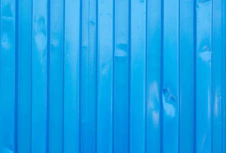 blue box: blue cargo ship container texture Stock Photo