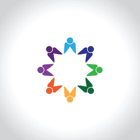 eight: eight  people icon.