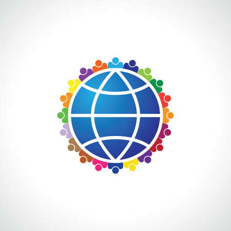 business group: Community of people joined around the globe