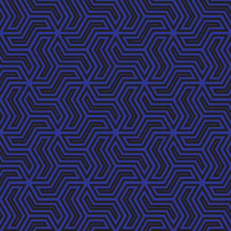 blue stripes: blue and black  graphic pattern abstract vector background. Modern stylish texture. Illustration