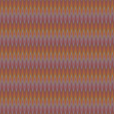 Zigzag in retro colors pattern . vector background.