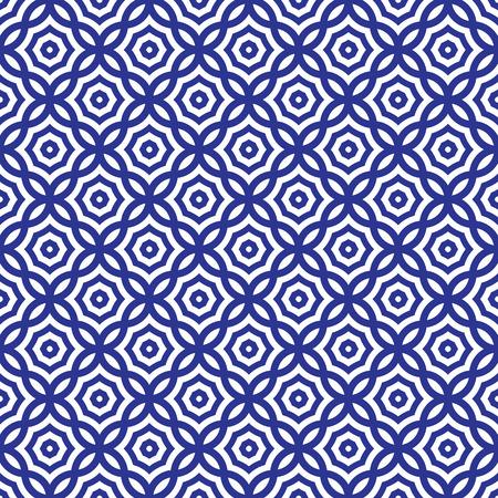 青と白のグラフィック パターンの抽象的なベクトルの背景。スタイリッシュでモダンな生地です。 写真素材 - 64925779