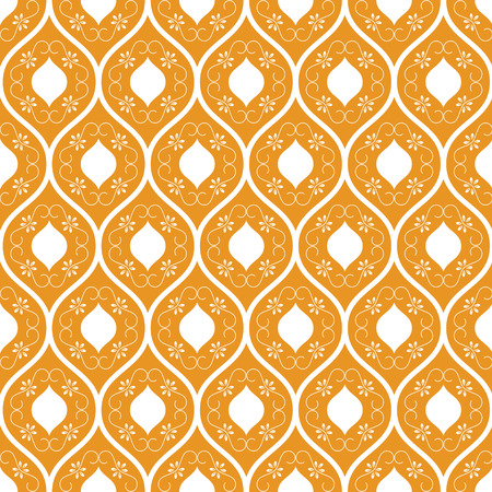 yello: yello and white  flora pattern. abstract vector background. Modern stylish texture. Illustration