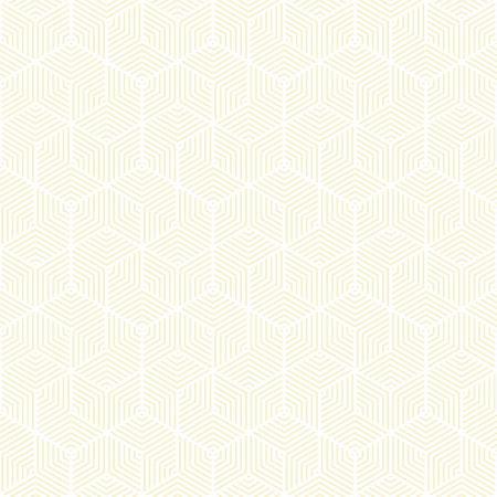 Patrón amarillo y blanco, fondo línea geométrica, textura elegante moderna. Ilustración de vector