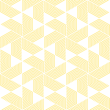 Yellow and white pattern,background line geometric,modern stylish texture,vector