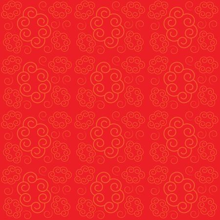 日本式のベクトルパターンオーナメント。ベクトルカラーの背景。